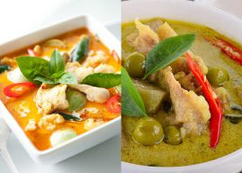 Are red curry and green curry the same?