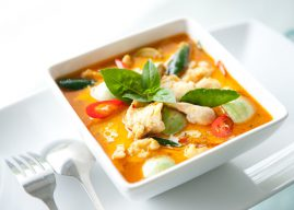 Chicken red curry with eggplant recipe