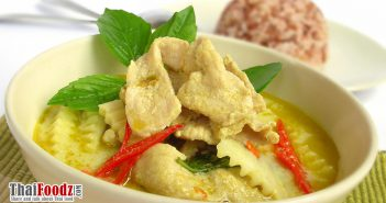 Pork and coconut palm heart green curry recipe
