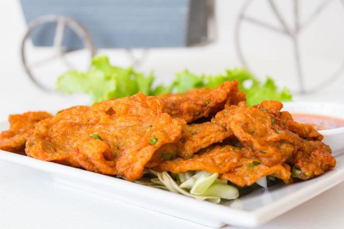 Thai Fish Cake or Tod Mun Pla