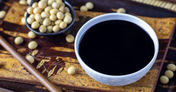 Dark soy sauce